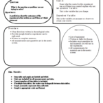 Lab Report Template, Rubric, And Standards Within Lab Report Template Middle School