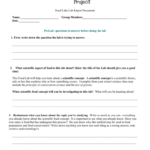 Middle School Lab Report In Lab Report Template Middle School