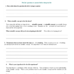 Middle School Lab Report   Templates At Regarding Lab Report Template Middle School
